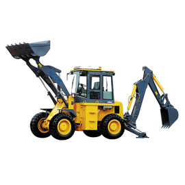 China 1.8T Compact Backhoe Loader 9500 Rated Load With Custom Color supplier