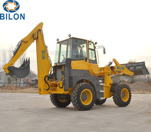 China 0.8-1.2m3 Bucket Capacity Caterpillar Backhoe Loader For Building Construction supplier