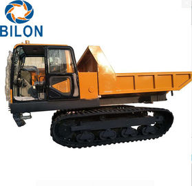 China 4 - 6L Capacity  Dump Truck , 12 Ton Tracked Dump Truck supplier