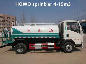 China 4 Ton 4m3 Construction Water Truck 4000 Liters HOWO Water Container Truck supplier