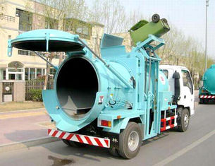 China 6 Wheels Garbage Compactor Truck 95hp 120hp 4X2 Small Swill Ort Garbage Dump Truck supplier