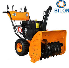 China Gasoline Engine Snow Sweeper Machines 13 HP Walk Behind Snow Sweeper supplier