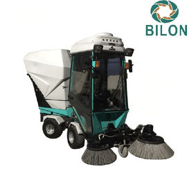 China 21kw Electric Snow Blower Diesel Power Vacuum Road Sweeping Vehicle supplier