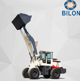China 76KW Small Wheel Loader Bigger Bucket 2 Ton For Loading Grain / Cotton supplier