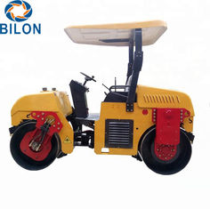 China 3 Ton Road Construction Machinery 3000kg Double Drum Asphalt Road Roller supplier