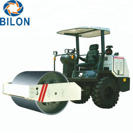 Single Drum Hydraulic Road Roller 3.5 Ton Weight With 53KN Exciting Force