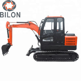 China Highly Efficient Hydraulic Excavator Machine 3 Ton For Road Digging CE Certificate supplier