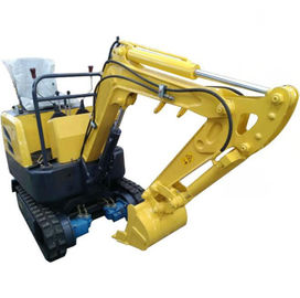 China Mini Digger Road Builder Excavator 0.8 Ton Small Mini Excavators With Hydraulic Hammer supplier