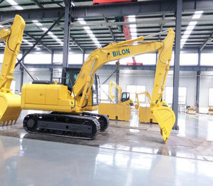 China 0.53M3 Small Excavator Machine 13T Bucket Capacity With Two Speed Motor supplier