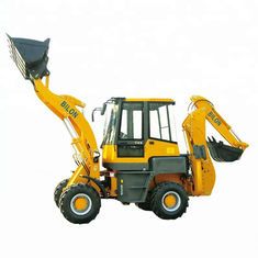 China Stable Running Small Backhoe Loader 1.6 Ton With 1600kg Operating Weight supplier