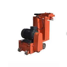 China 7.5KW Hand Pushed Concrete Scarifier Machine With Electric Motor Driven supplier