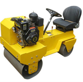 China Advance Design Static Road Roller , 15L Water Tank Volume Compactor Road Roller supplier