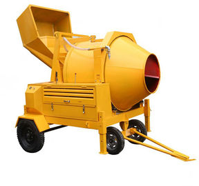 China 350L Diesel Engine Hydraulic Concrete Mixer with 14/Min Drum Rotation Speed supplier