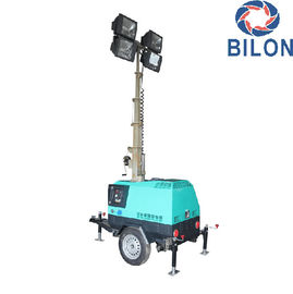 China 7M Diesel Engine Construction /Stadium Tailer Light Tower With Good Price supplier