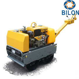 China 600-700KG Gasoline Diesel Walk Behind Roller Engine Power 13HP CE Certificated supplier