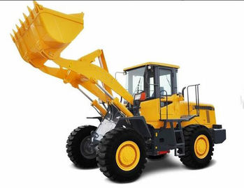 China 3 Ton Front Wheel Loader Long Wheelbase High Unloading Strong Digging Force supplier