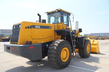 China 6 Ton Wheel Loader Machine 966H / Industrial Construction Machinery supplier