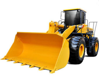 China 129kW 4 Ton Wheel Loader Luxury Cabin Decoration And A/C Provide Operator Comfort supplier