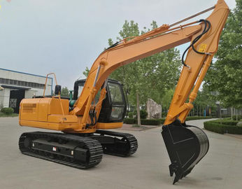 China Powerful 15000Kg Road Builder Excavator With Yuchai Or Cumins Engine supplier