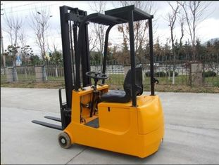 China 1 Ton Capacity Small 3 Wheels Electric Forklift Max. Lifting Height 90mm supplier