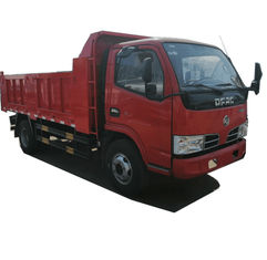 China Dongfeng 5 Ton Mini Dump Truck / Diesel Fuel Type Crawler Tipper Truck supplier