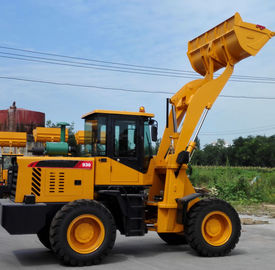 China 930 3 Ton Electric Control Mini Wheel Loader Machine / Hydraulic Front Wheel Loader supplier