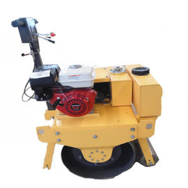 China 9HP Vibratory Single Drum Road Roller Machine With Honda Engine 20L Water Tank supplier