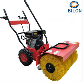 6.5HP Snow Sweeper Machines Working Depth 45cm / Road Sweeping Vehicle