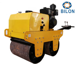 70HZ 8HP Double Drum Vibratory Road Roller Travel Speed 0-4km/H