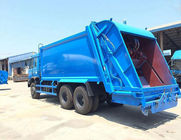 Economical Garbage Compactor Truck 13CBM / 15 CBM / 16 CBM Garbage Collection Vehicle