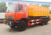 6x4 Garbage Compactor Truck 15 Ton - 20 Ton Roll Off Garbage Truck