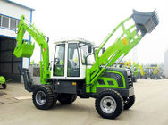 China High Efficiency Caterpillar Backhoe Loader 6 Ton Mini Tractor Backhoe factory