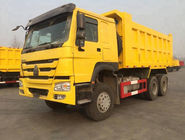 China HOWO 6*4 10 Crawler Dump Truck 41000kg Tires Tipper Truck For African Market factory