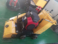Speed 3000rpm Concrete Scarifier Machine / 24HP Road Milling Machine With Honda Gasoline GX690