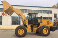 Big 162KW Flexible Wheel Loader Machine 2.7-4.5m3 Bucket Capacity