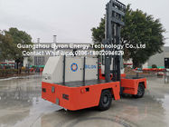 China 3 T Diesel Side Loader Fork Truck For Extra Long Cargo With ISUZU Engine factory
