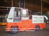 Red Road Construction Machinery Diesel Engine Side Load Fork Lift For Wood Pipe Long Goods Transport