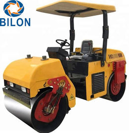 High Efficiency Vibratory Road Roller 3 Ton 21KW Hydraulic Road Roller