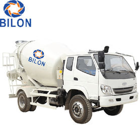 China 3m3 Concrete Mixer Truck With 4 Wheel Driver , 2 Wheel Steering distributor