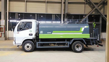 5CBM Capacity Water Tank Truck Water Hauling Truck With 2870CC Engine