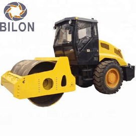 Stable Running 63KW Road Construction Machinery 10 Ton Single Drum Vibratory Road Roller