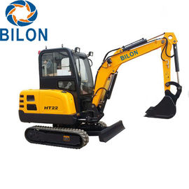 2.2T Road Builder Excavator Small Mini Excavator With 2200 Kg Operating Weight