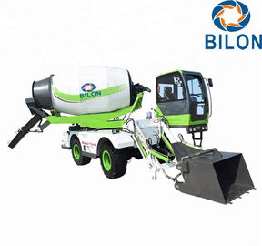 China High Efficient 4 CBM Mini Concrete Mixer Truck Closed Circuit Hydraulic Rotation System distributor