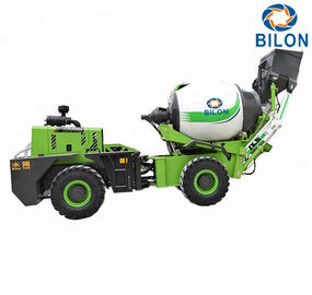 China 1.5 CBM Self Loading Mobile Concrete Mixer Machine Charging Capacity 2300L distributor
