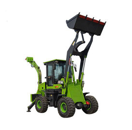 Powerful Compact Backhoe Loader 2.5 Ton Earth Moving Machinery