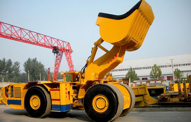 6CBM Diesel Load Haul Dump Loader Underground Mine Equipment For Tunneling
