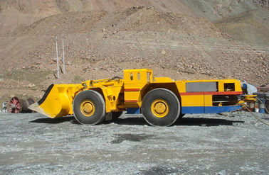 4 Wheel Drive Articulated Underground Mining Machines Speed 1487r / Min