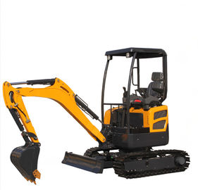 China 2 Ton Road Builder Excavator Rated Speed 4km/H Maximum Digging Heigh 3700mm distributor