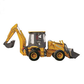 74~147KW High Configuration Compact Backhoe Loader With Dongfeng Cummins Engine