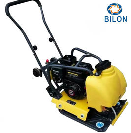 China 5.5HP Walk Behind Gasoline Vibratory Plate Compactor For Building Foundation distributor